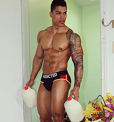male striptease blog