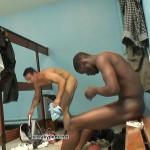 Sportsmen locker room voyeur