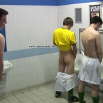 Footballers Pissing Urinals Gay Spy Cam