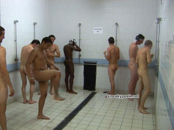 guys showering together voyeur