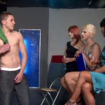 young male stripper show