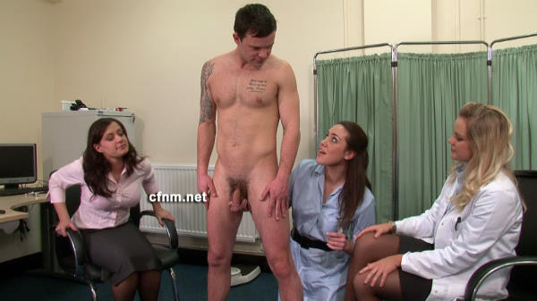 naked guys medical examination