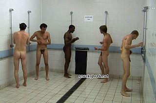 nude men in showers videos