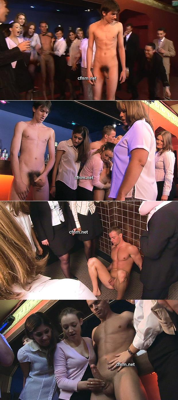 straight naked boys masturbated at cfnm party