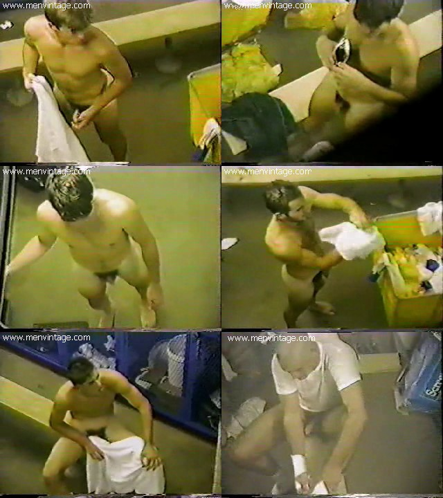 Hidden spy cam of hot guys in locker room