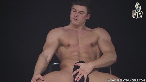 naakte mannelijke erotische strip dans
