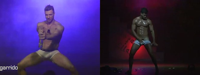 male stripper Jheremy Garrido