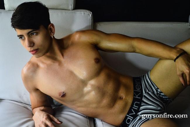 handsome latino boy