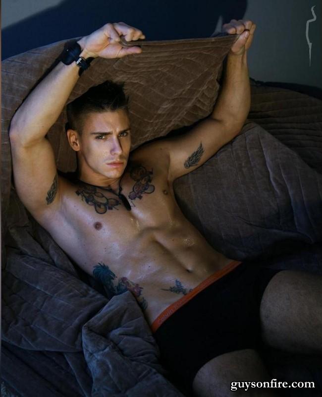 fitness model webcam