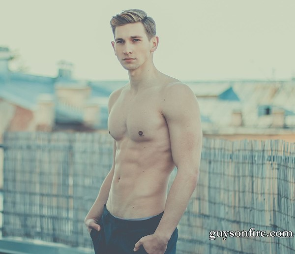 male fitness model video